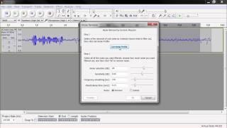Cách loại tạp âm khi thu âm với phần mềm Audacity