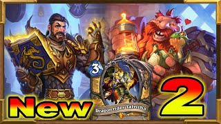 Hearthstone: My New Handbuff Dragons Paladin With Frizz and Dragonrider Pt2 | Descent of Dragons New