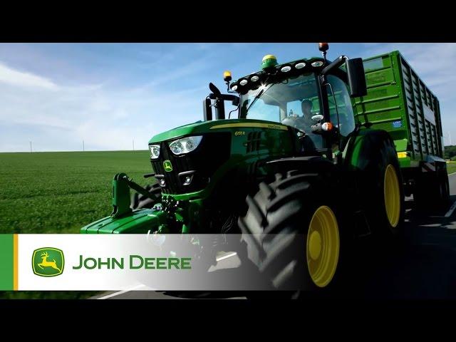 Tracteurs Série 6R à petit et moyen châssis John Deere