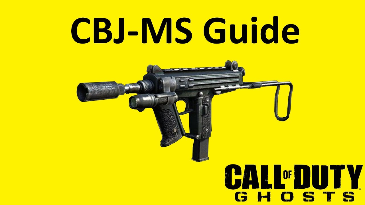 Cbj ms submachine gun weapon guide call of duty ghosts best soldier