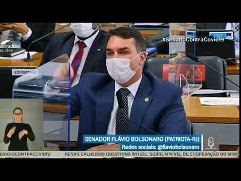 Flavio BOLSONARO ? Na Cpi                                      olhocerto