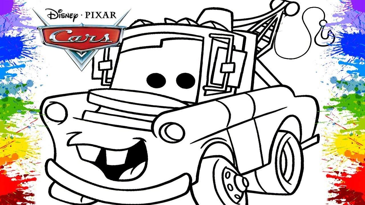 Desenho Do Filme Carros Mate Mcqueen Desenhos Animados Educativo