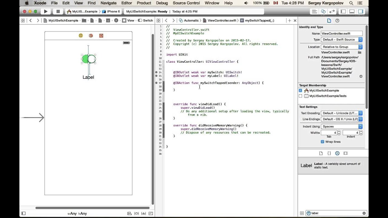 Example of APIClient and TestCase in Swift, using AFNetworking/Bolts · GitHub