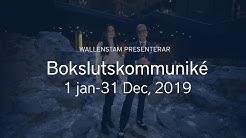 Wallenstam bokslutskommuniké 2019