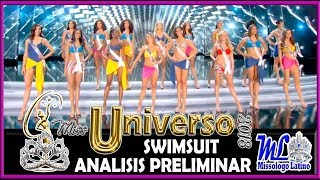 MISS UNIVERSE 2018 - SWIMSUIT COMPETITION - ANALISIS PRELIMINAR