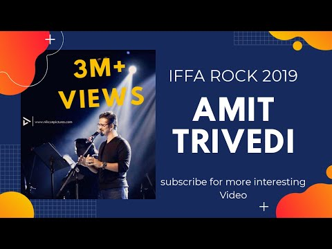 IIFA ROCKS 2019 Performance By Amit Trivedi