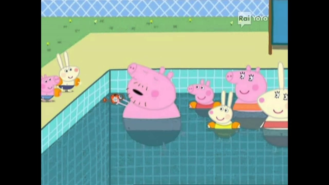 Peppa pig la piscina bimbi tube italiano hd youtube - Peppa pig piscina ...