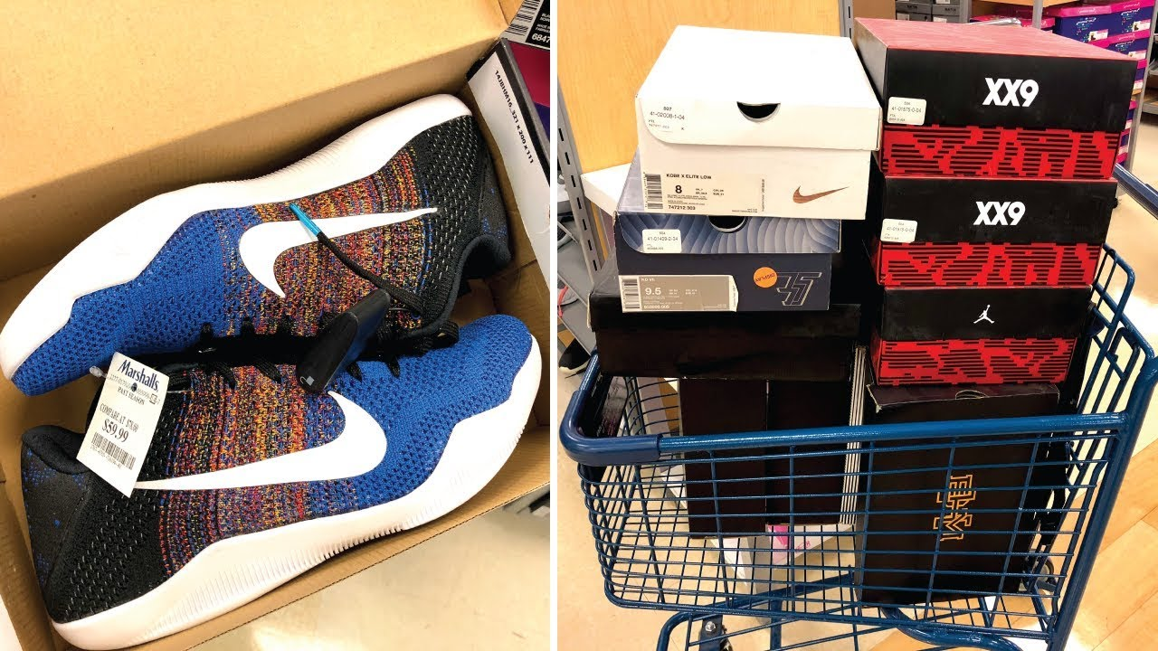 83981cc79f2 THIS WAS ONE CRAZY MARSHALLS SNEAKER HAUL! - YouTube