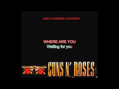 Guns N' Roses - Coma [Karaoke]