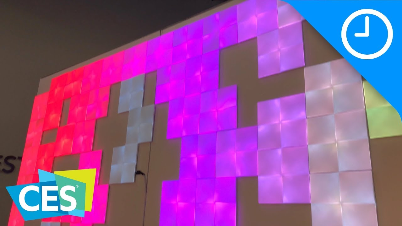 Hands On Nanoleaf S New Square Light Panels And