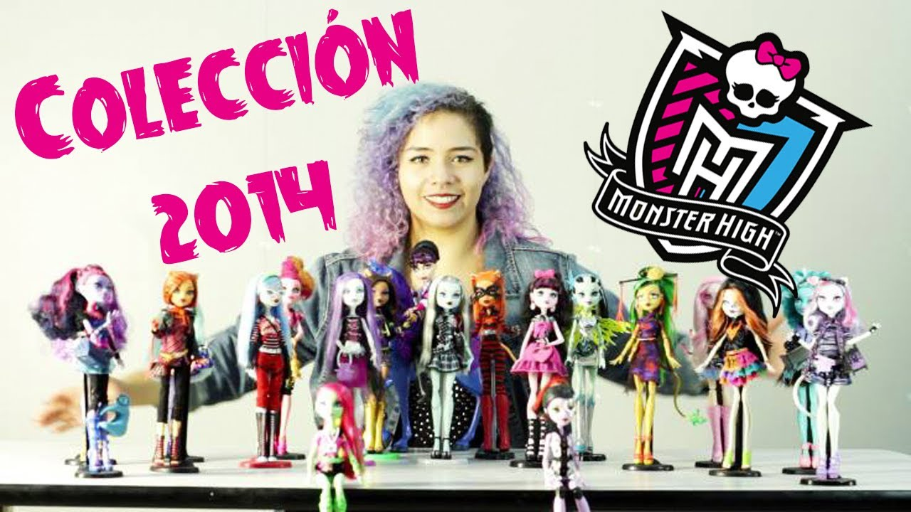 Mi colecci n monster high 2014 youtube for Muebles de monster high