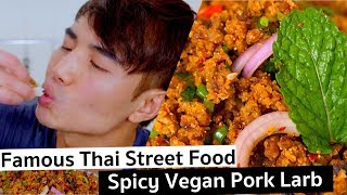 Top Thai Street Food -  Vegan Pork Larb | PicniclyNOW