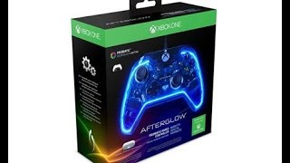 Afterglow Prismatic Xbox One Controller Unboxing