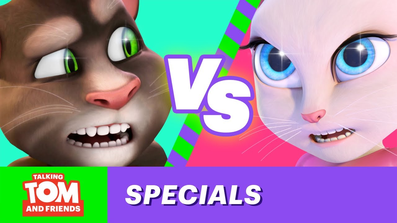 85e928e65 Talking Tom and Friends - One-on-One with Tom and Angela (Colin Hanks and  Lisa Schwartz)