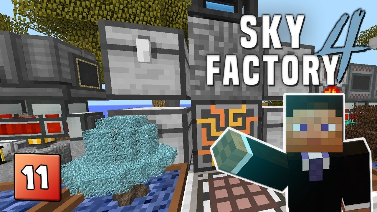 SkyFactory 4 - EP 11 Wither Data Model & Becoming a heckin