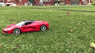 Ferrari Test drive outside and Disney Cars Mater To The Rescue