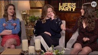 Gillian Jacobs, Molly Gordon, and Melissa McCarthy Talk Life of the Party