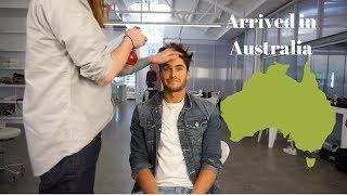 Arrived in Australia