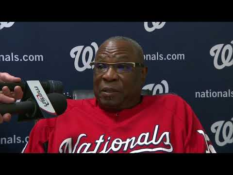 Dusty Baker on the Nats' injuries this season