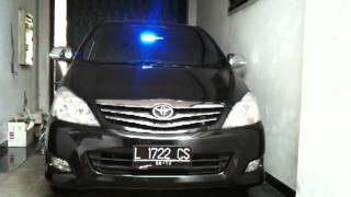 My 2009 Kijang Innova as an unmarked police car