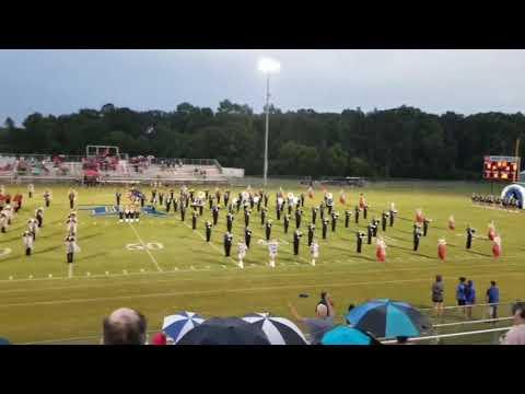 Dothan High School and Rehobeth High School Bands pregame