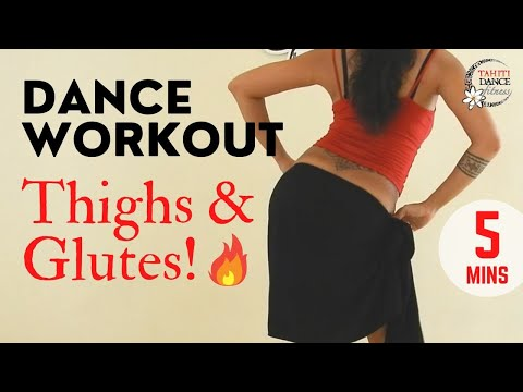 TIGHTS & GLUTES! Tahitian Dance Workout / Basics Tutorial thumbnail