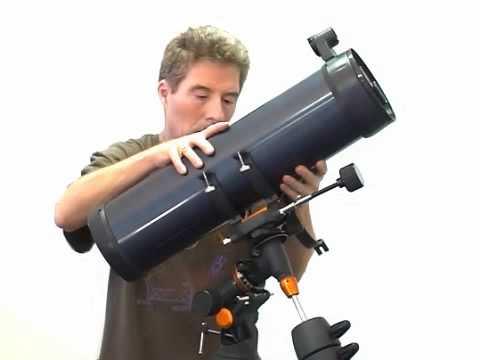 Setting Up Celestron Astromaster 130 Eq Telescope Youtube
