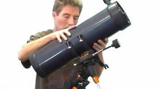 Setting Up Celestron AstroMaster 130 EQ Telescope