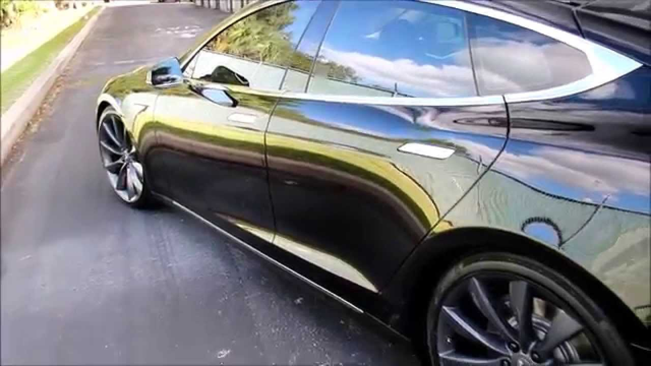 Tesla detail paint protection by first impression for Premier paint protection