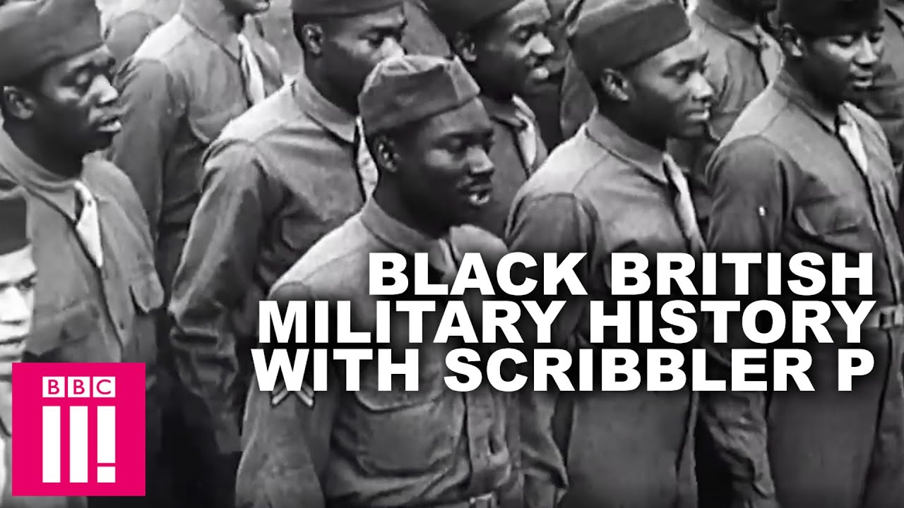 Black People In The Second World War: Black Military History With Scribbler P