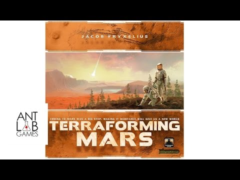 Terraforming Mars Playthrough Review