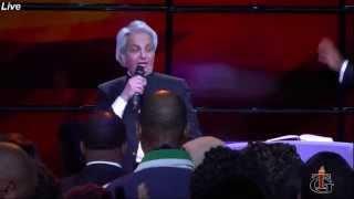 Televangelist Benny Hinn at Tabernacle of Glory on Dec 12, 2014