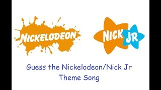 Guess the Nickelodeon/Nick Jr Theme Song