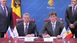 ''Газпром'' продлил контракт на 2015 год  для АО «Молдова-газ».