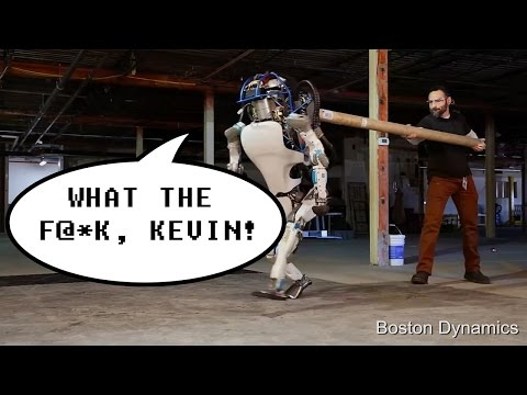 Atlas Robot - Swearing Mod - Boston Dynamics