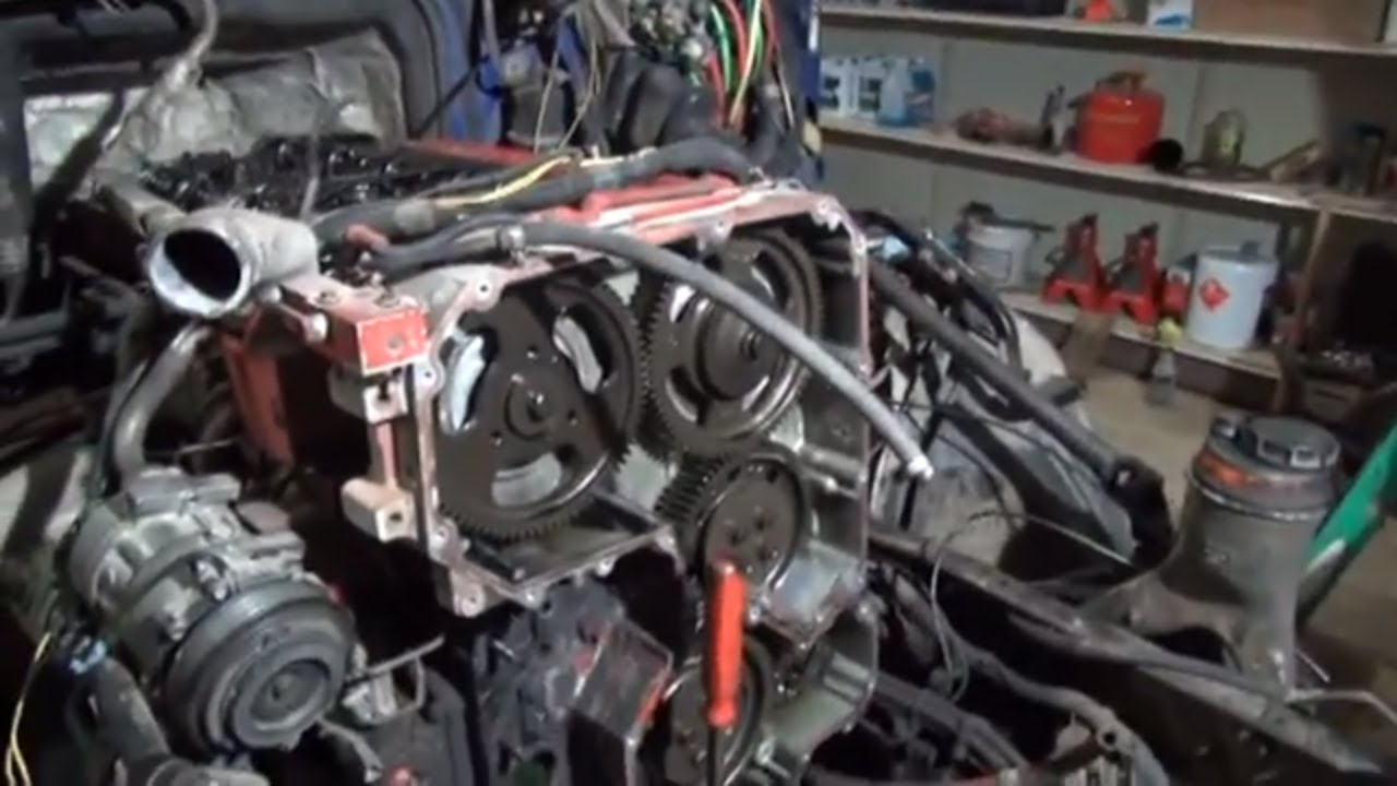 cummins isx front cover oil leak repair [ 1280 x 720 Pixel ]