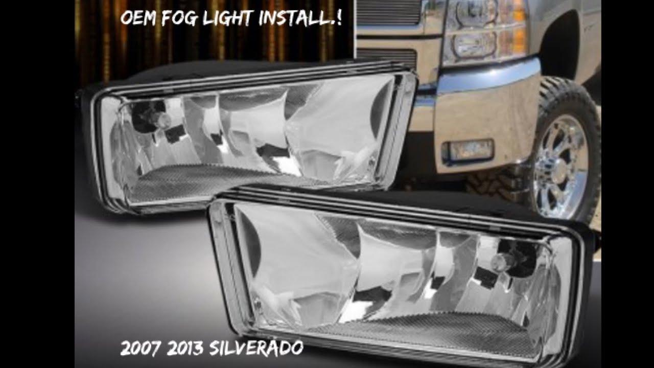2013 Silverado Fog Light Wiring Diagram Portal Gm Harness 2007 Install Part 1 Youtube Rh Com