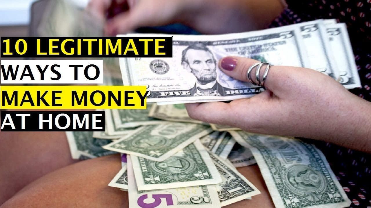 10 Legitimate Ways of Making Money Online in 2018- How To Make $200 A Day  Online Work From Home