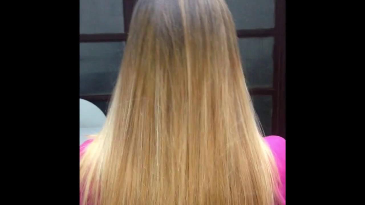 Degradè Capelli Ombre Hair Balayage Lisci Straight Biondi Blonde Effetto Dye Tinta