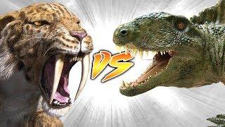 SMILODON VS DIMETRODON [Who Would Win?]