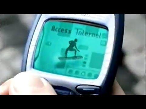 Surf the BT Cellnet - Genie Internet TV Advert