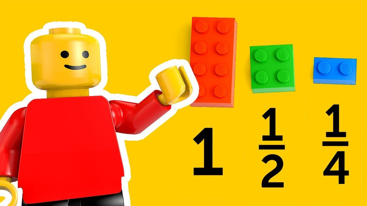 basic math for kids with legos: addition, subtraction, fun math