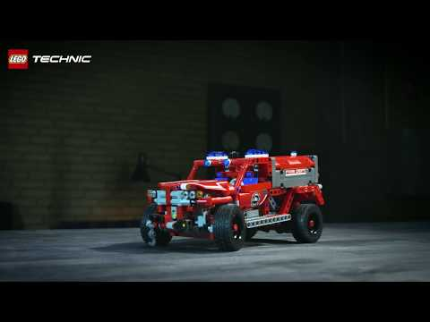 Race to the rescue! – First Responder – LEGO Technic - 42075