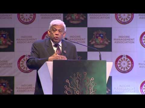 Mr. Deepak Parekh (Chairman, HDFC Ltd) - 25th IMA International Management Conclave 2016.