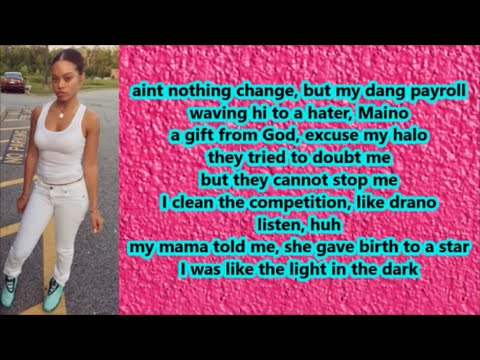 Miss Mulatto - No More Talking (Lyrics)