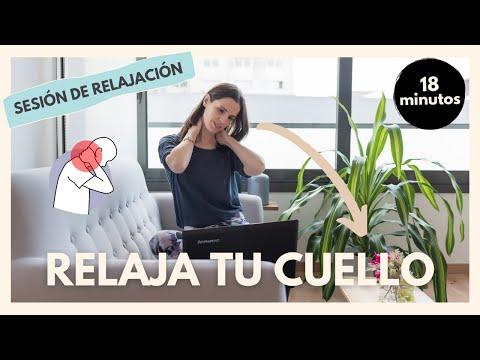 Secuencia de ejercicios para relajar el cuello