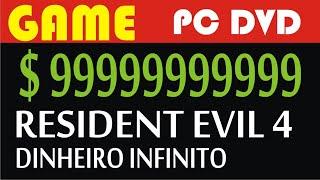 Resident Evil 4 Dinheiro Infinito PC 9999999 PTAS #SpelunkaTV