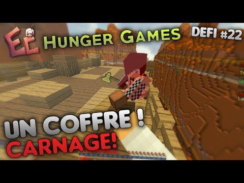 Défi #22 : Gagner avec un SEUL COFFRE (CARNAGE) ! | Hunger Games - Epicube