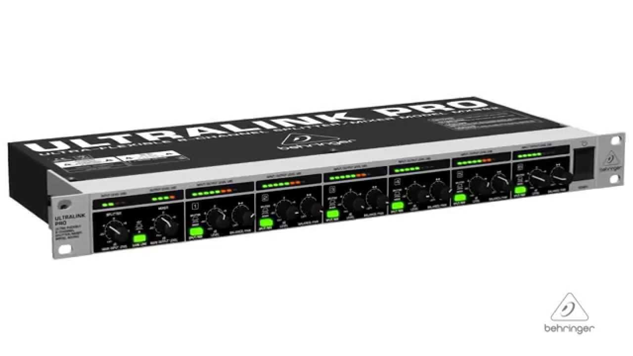 ULTRALINK PRO MX882 Ultra-Flexible 8-Channel Splitter/Mixer