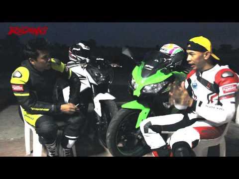 [HD] Riding Magazine#213 : Test on Track - kawasaki Ninja 250 & Z 250